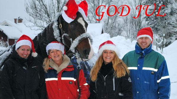 God Jul till er alla från oss alla!