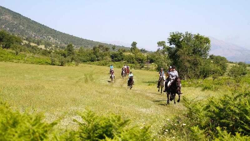 Albanien - Zagoria långritt