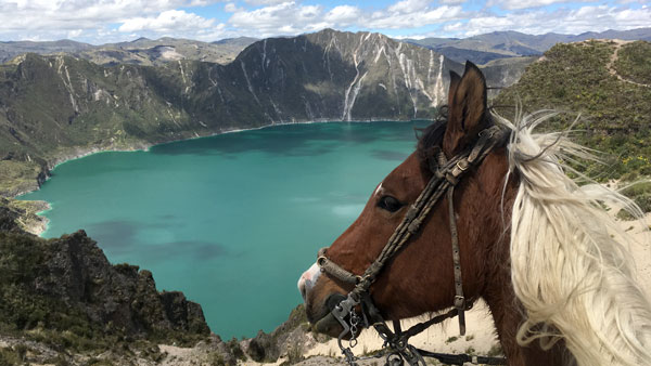 Ecuador -  Quilotoa vulkanritt