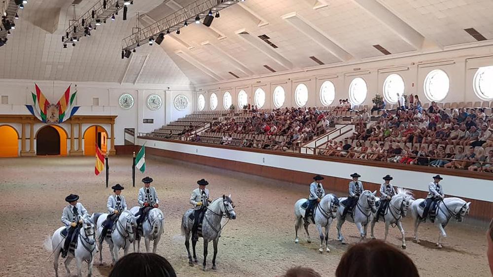 Spanien, Costa de la Luz - Strandritt och spanska ridskolan i Jerez